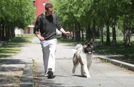 Full che corre con Luca